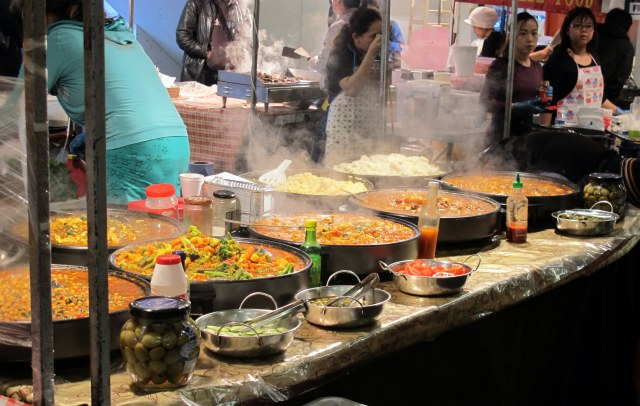 Indian food purveyors at Brick Lane